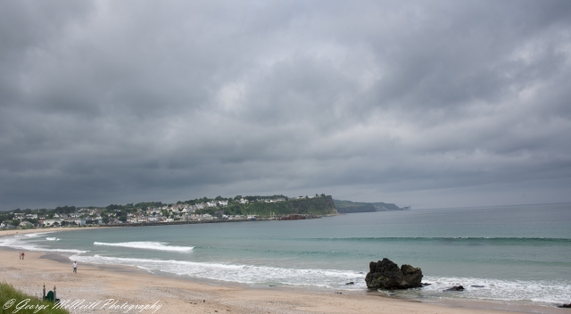 Ballycastle beach and town.JPG